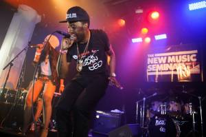 Black Cobain performs at the Artist On The Verge Finals 2012 at Santos Party House in New York City, June 18, 2012.