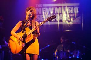 Maren Morris performs at the Artist On The Verge Finals 2012 at Santos Party House in New York City, June 18, 2012.