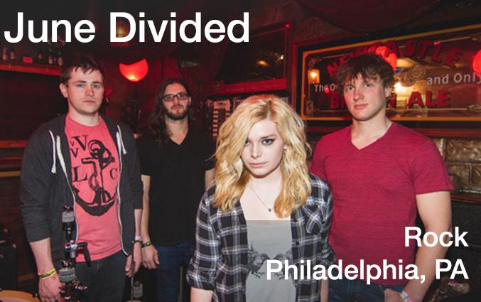June Divided, Rock, Philadelphia, PA