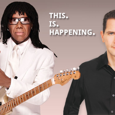 Nile Rodgers and Craig Kallman Together at New Music Seminar 2014