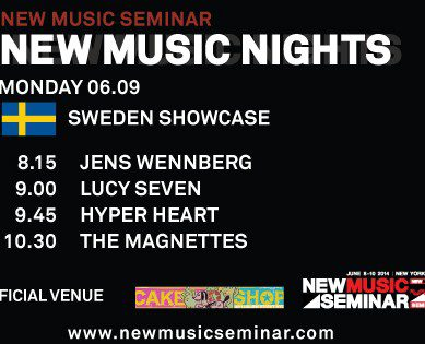Sweden Takes Over NYC Monday, June 9 – See The Line-Up You Can't Miss!