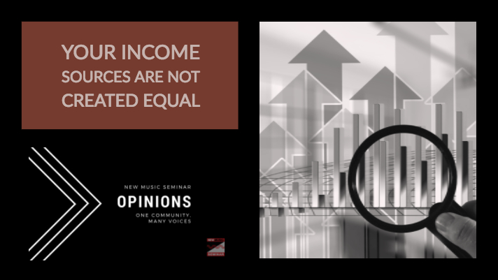 Opinion: Your Income Sources are Not Created Equal